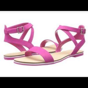 Calvin Klein Carolina Nubuck Sandals 7,5 M